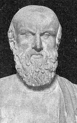 Bust Of Aeschylus From The Capitoline Museums, Rome. (523 Bc - 456 Bc)