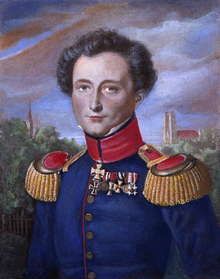 Carl Von Clausewitz. Portrait While In Prussian Service, By Karl Wilhelm Wach